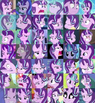 The Many Faces Of Starlight Glimmer by AlphaMoxley95