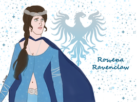 Young Rowena Ravenclaw by bltshop
