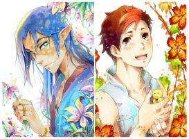 Copic postcards by Sideburn004