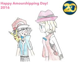 Amourshipping day 2016 by Pikafan09