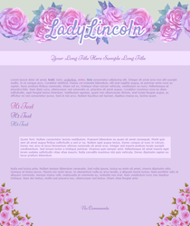 Journal Skin Commish for LadyLincoln by Sleepy-Stardust