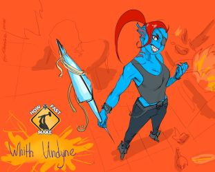 HFM with Undyne by Kardie