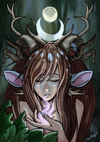 The Last Druid by Hurlespoir-Amelie