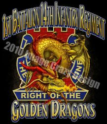 US Army 'Yellow Dragon' design by JSein