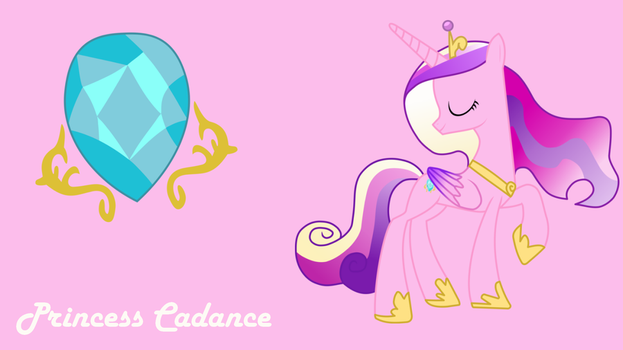MLP: Princess Cadance Background by SweetCandace
