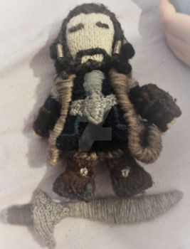Little Knitted Thorin by VioletApples