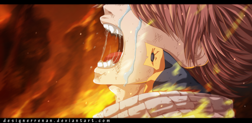 Fairy tail 415 - Crying by DesignerRenan