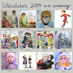2014 Art Summary by Sildesalaten