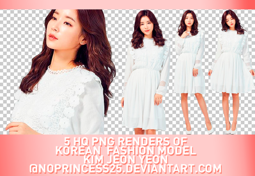 PNG PACK #195 | KIM JEON YEON by NoPrincess25
