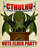 Cthulhu for President by ZombieGirl01