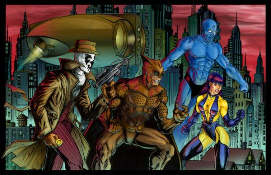 Who watches the Watchmen? by CamT