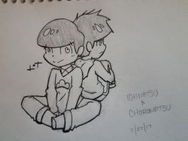 Ichimatsu And Choromatsu by JazCooper