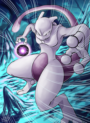 Mewtwo by ACPuig