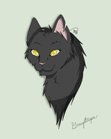 Graystripe (Request) by drawingwolf17