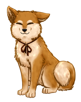 told ya she had a shiba form by withwingsthatfly