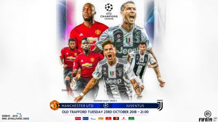 MANCHESTER UNITED - JUVENTUS CHAMPIONS LEAGUE by jafarjeef