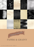Texture Pack 07 I Papers and Grainy by belle-liberte