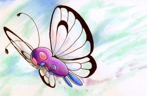 butterfree by DestroyedSteak