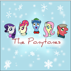MLP: The Ponytones: Let It Snow Album Cover by PacificGreen