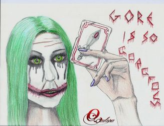 And if the Joker was a woman? by Owadora
