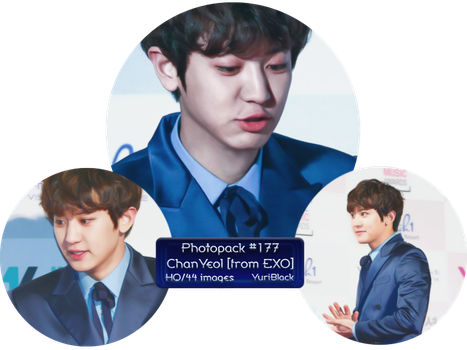 Photopack #177 - ChanYeol [from EXO] by YuriBlack
