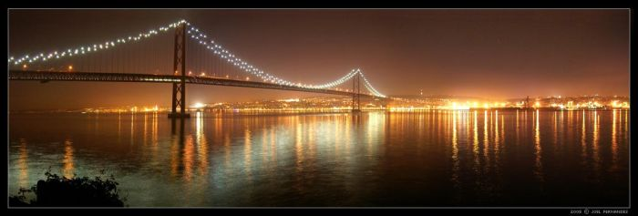 Tagus Bridge by darkgod