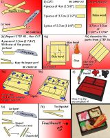 How to make a Mini Bento Box by kayanah