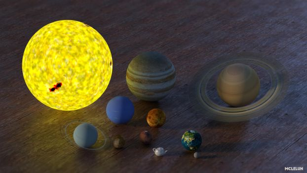 Solar System by mclelun