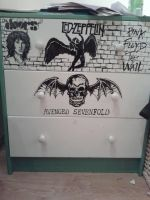 band logos drawer project made with a marker by chocolatwolf