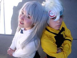 MAKA and SOUL by shinuko