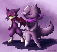 Espurr and Purrloin