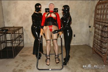 A MALE IS TRANSFORMED INTO A FEMALE RUBBER SLAVE by juliegrey2001