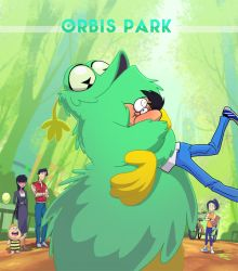 Orbis Park As A Comic Series by andrewk
