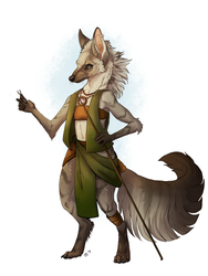 The Smallest Gnoll by sinereous