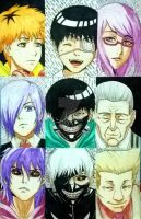 Tokyo Ghoul Faves by JasonAvenger23