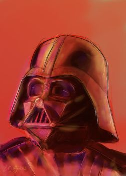 Darth Vader Speed Paint by Truley-Unruly