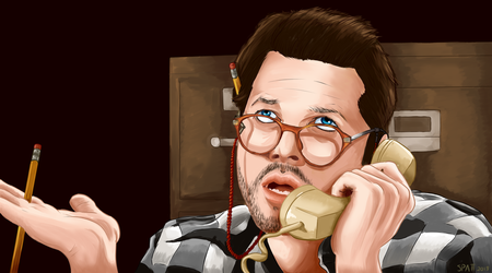 Misha Collins by Spatterat