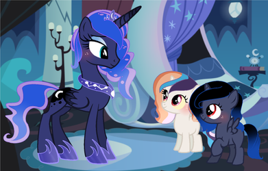MLP FIH  Next Gen How do you raise the moon, mom? by MoonlightMovieYT