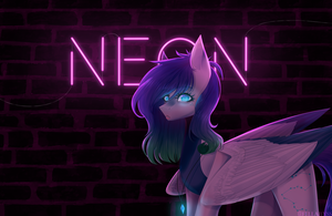 [AT] Neon light by FellAbyss