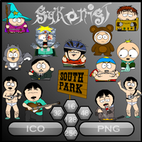 South Park Sykons by Sykonist