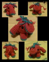 Crochet Elephant by Merlend