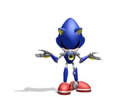 would you mess with Metal Sonic? by mitchika2