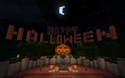 Minecraft: Happy Halloween by D3s3rtR4v3n