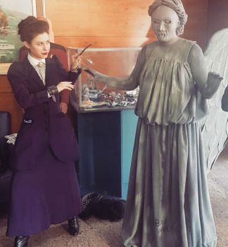 Missy cosplay  at Cifimad 2017 - Don't blink! II by ArwendeLuhtiene