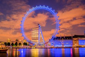 London Eye by Garona