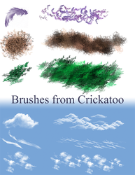 Yo have some brushes by Crickatoo