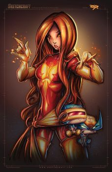 Dark Phoenix by RobDuenas