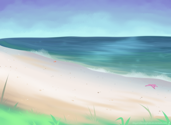 Brilliant Beach by SlayersStronghold