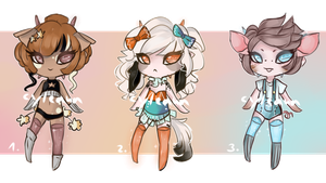 SP Mini-Gleamstic Set 2: [CLOSED] by Cyleana