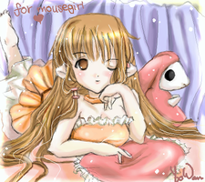 Chii for Mousegirl XD by yinsey